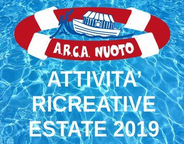 Divertiamoci in piscina - Attivita' ricreative - Estate 2019