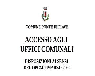 Accesso agli Uffici Comunali