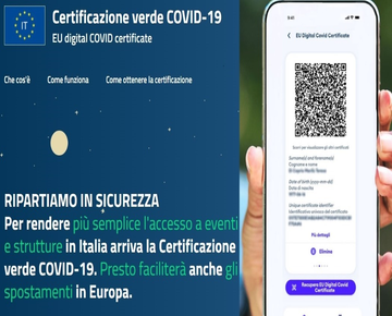 Certificazione verde COVID-19 - GREEN PASS