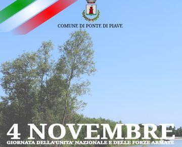 Celebrazioni per la Festa dell'Unita' Nazionale e delle Forze Armate